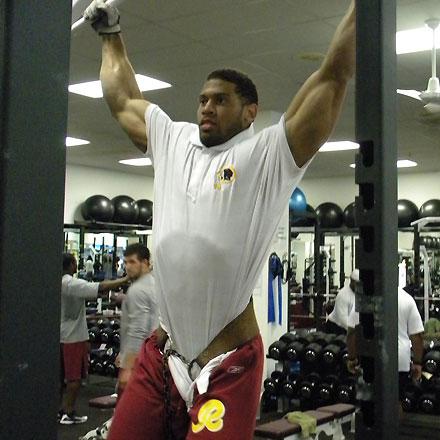 laron landry workout muscle prodigy