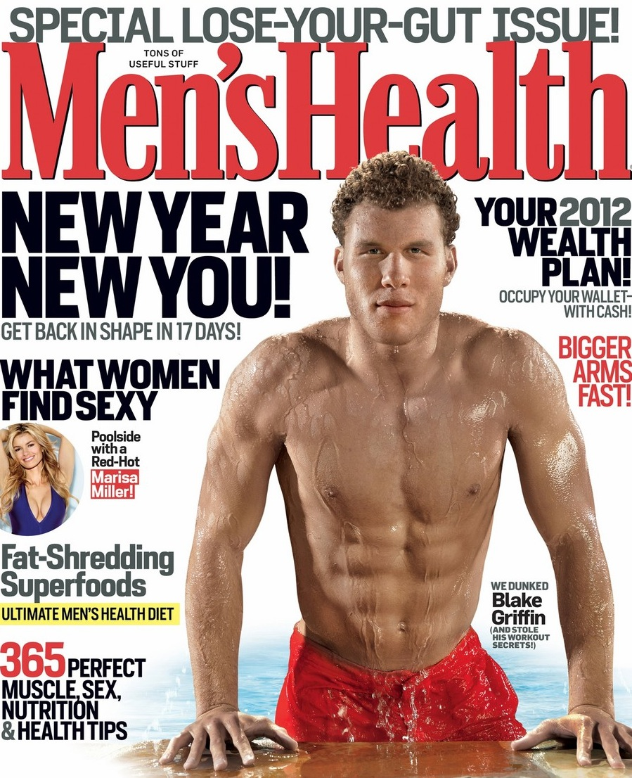 Griffin was featured in Men's Health magazine due to his ripped physique. At 6'10 and 250 lbs., he can move and jump as good as anyone. His body speaks volumes to the way he trains.