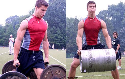 Brian Cushing Workout | Muscle Prodigy