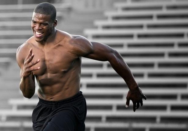 Cam Newton Workout