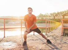Lunges help to loosen up your hip flexors.