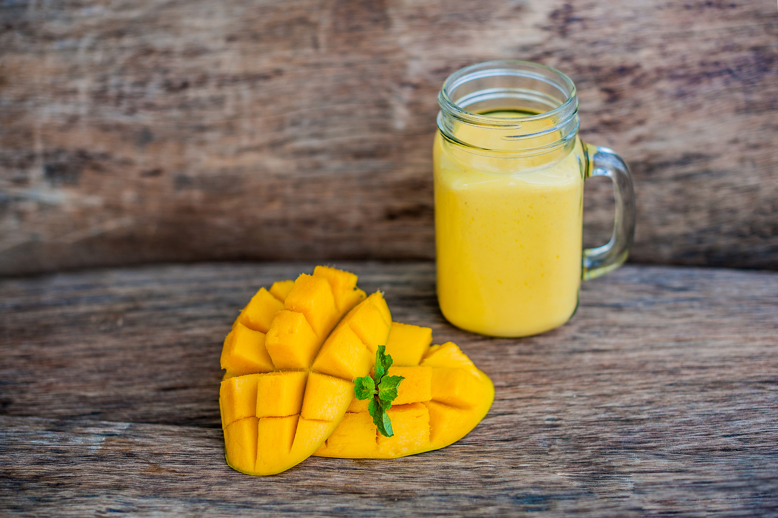 Add mangoes to your protein smoothie to get an antioxidant boost.