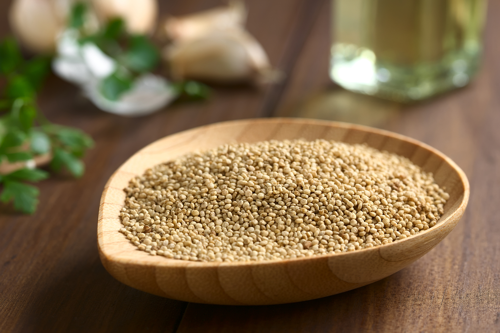 Quinoa is one of many muscle-building foods you can get cheap.